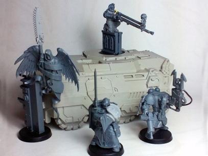 Inquisitor Sidereus Poena with retinue